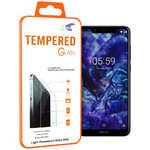 Calans 9H Tempered Glass Screen Protector for Nokia 5.1 Plus - Clear